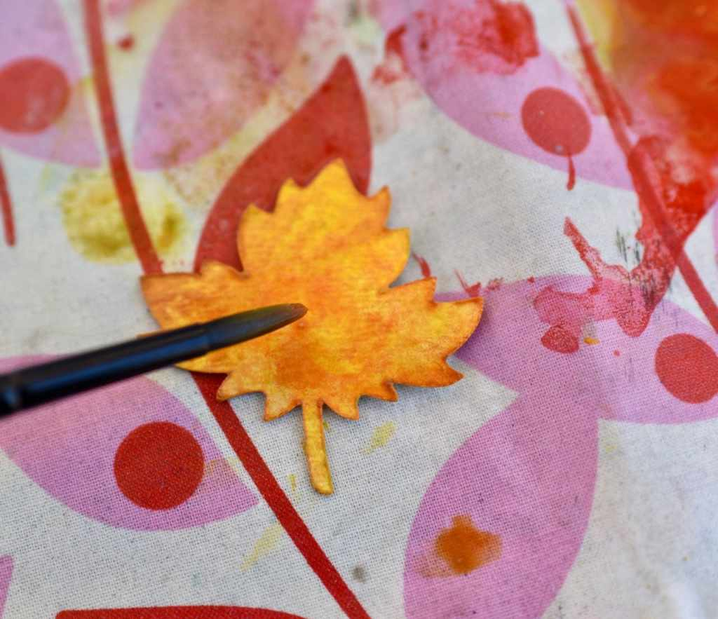Thankful tree leaves for Thanksgiving craft