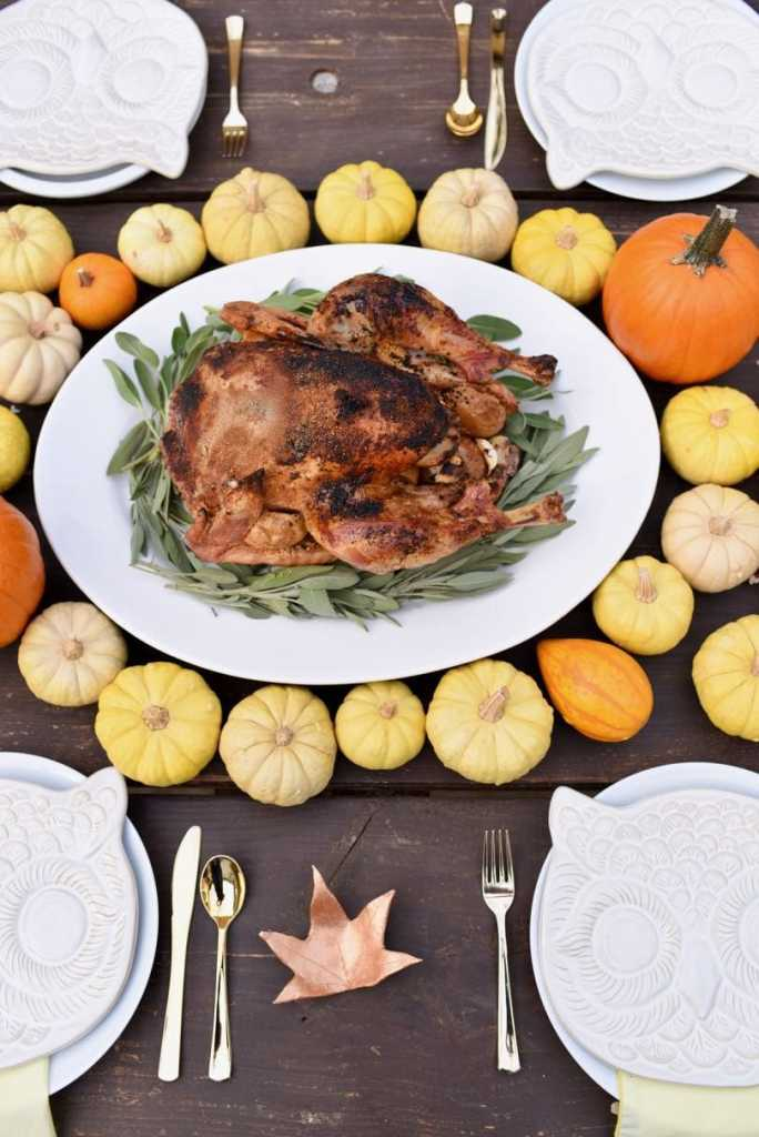 Thanksgiving table ideas and place setttings