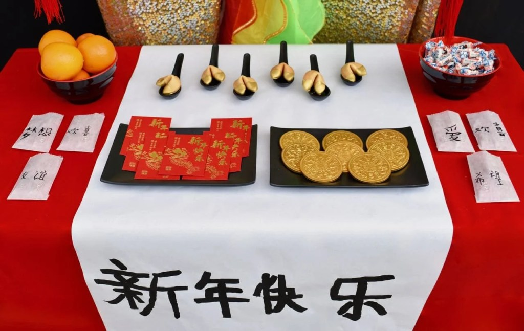 Chinese New Year party food ideas