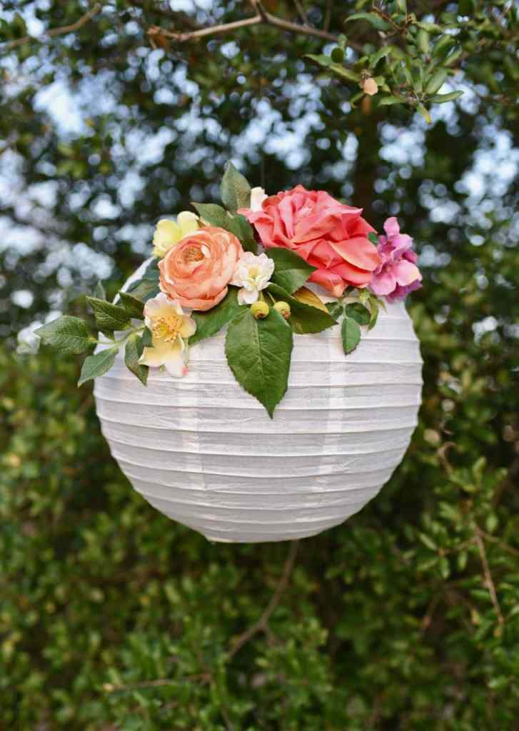 Diy flower paper lanterns tutorial make life lovely diy flower paper lanterns make these gorgeous paper lanterns with just a few supplies in mightylinksfo Choice Image