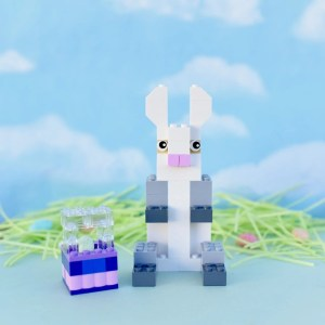How to Build a LEGO Easter Bunny, Chick, and Easter Basket
