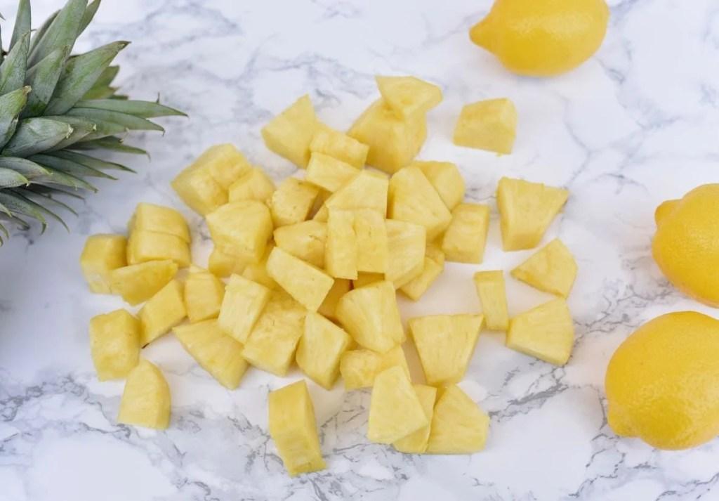 Pineapple lemonade recipe with Nature Nate's Honey