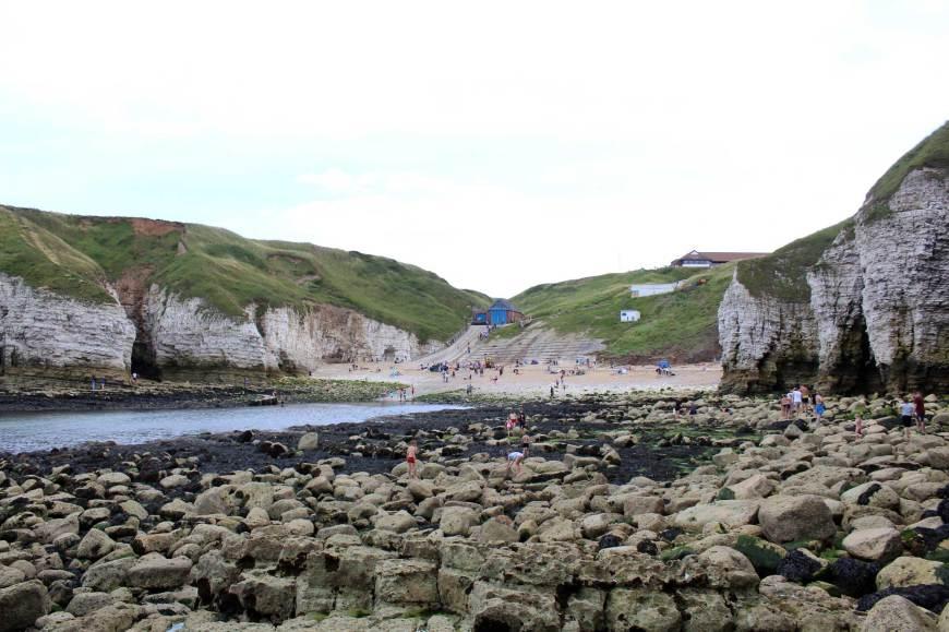 North Landing Beach and Rocks