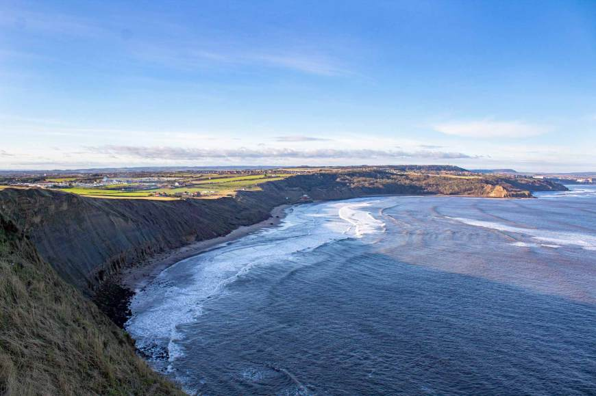 Cayton Bay from Cleveland Way