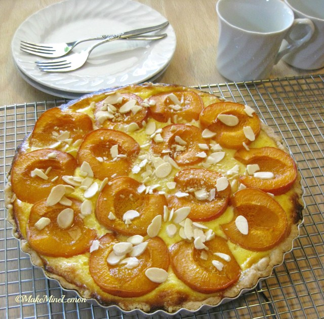 Apricot Tart Filling and Almond