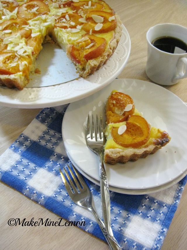 Slice of Apricot Tart