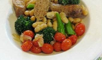 Italian Sausage, Broccoli Rabe and Roasted Tomatoes