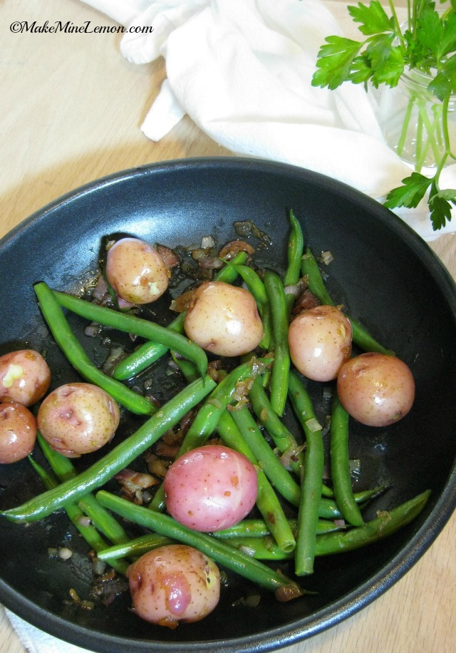 Steamed Potatoes and Really Good Green Beans