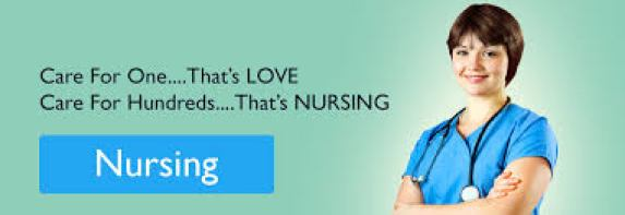 one nurse standing