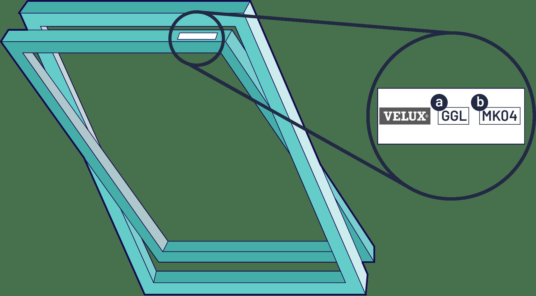 how to measure a skylight window