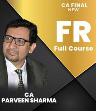 Video Lectures CA Final Financial Reporting By CA Parveen Sharma