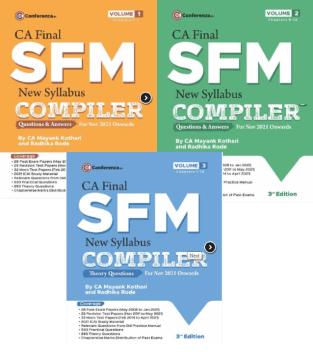 CA Final SFM Compiler New Syllabus By CA Mayank Kothari
