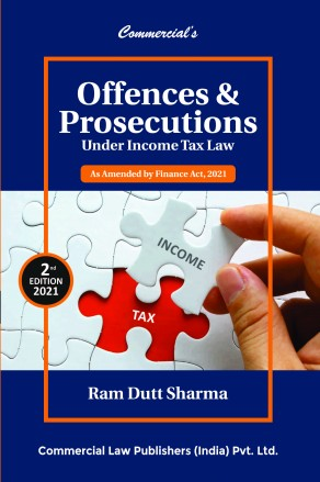Commercial Offences Prosecutions Under Income Tax Ram Dutt Sharma