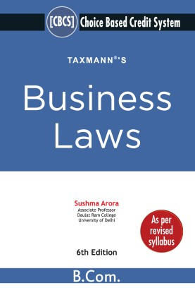 Taxmann Business Laws Choice Based Credit System Sushma Arora