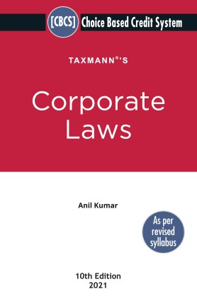 Taxmann Corporate Laws Choice Based Credit System By Anil Kumar
