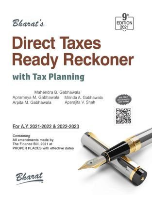 Direct Taxes Ready Reckoner Mahendra B Gabhawala June 2021