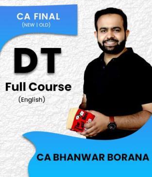 CA Final Direct Tax & International Taxation ENGLISH Bhanwar Borana
