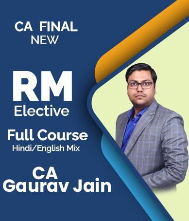 Video Lecture Elective Risk Management New Syllabus Gaurav Jain