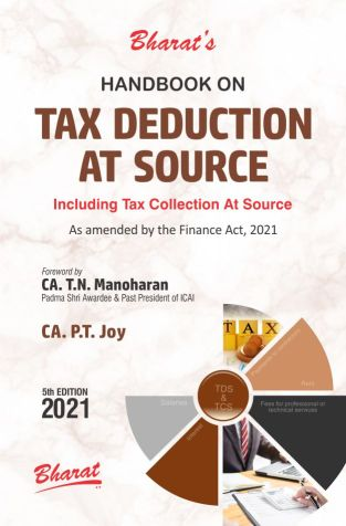 Bharat Handbook Tax Deduction at Source CA P T Joy