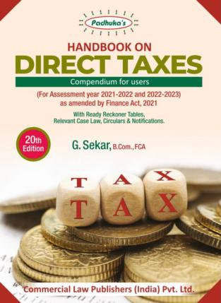 CCH Handbook on Direct Taxes Compendium for Users By CA G Sekar