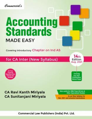 Accounting Standards CA Inter New Syllabus By Ravi Kanth Miriyala