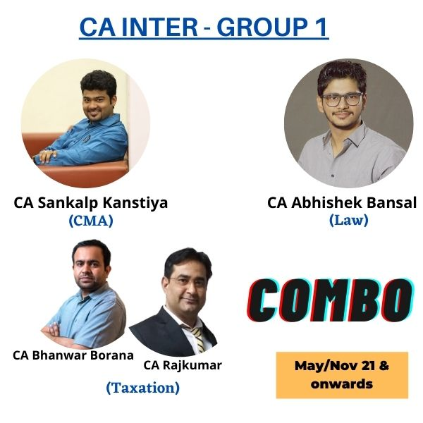 Video Lecture CA Inter Combo Group 1 By CA Abhishek Bansal