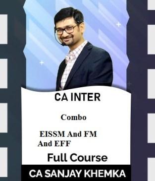 Video Lecture CA Inter EIS & SM FM & ECO Syllabus Sanjay Khemka