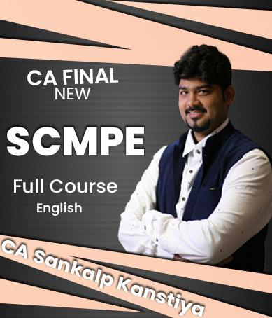 Video Lectures CA Final SCMPE (Costing) New Syllabus Regular (English) By CA Sankalp Kanstiya Applicable for November 2021 Exams