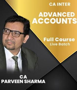 Video Lectures CA Inter Advanced Accounting By CA Parveen Sharma