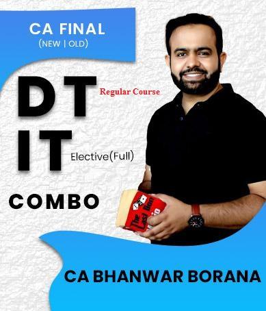 Video Lecture CA Final Direct Tax & International Taxation Bhanwar Borana