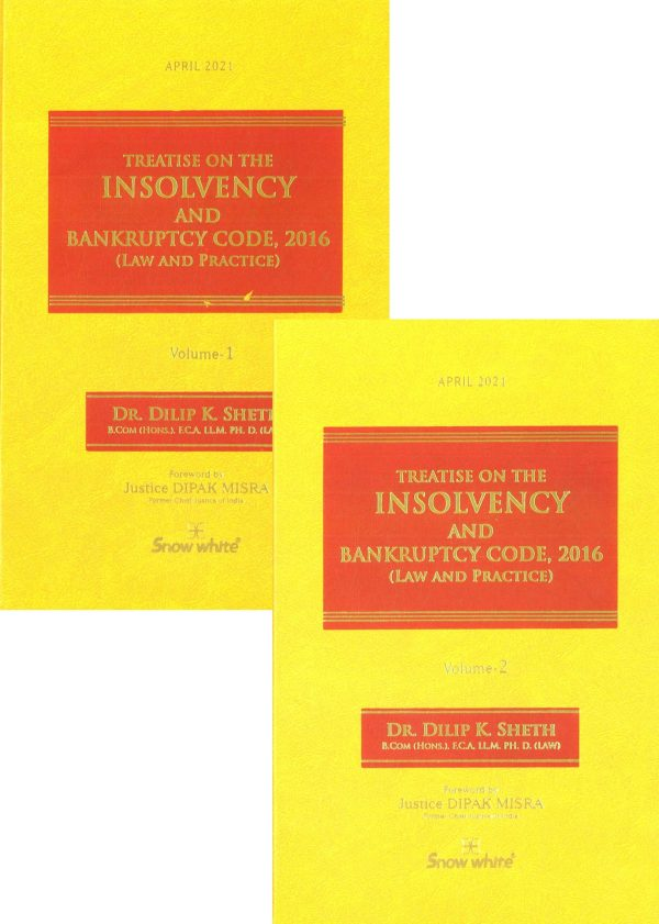 Snow White Treatise on The Insolvency and Bankruptcy Code 2016