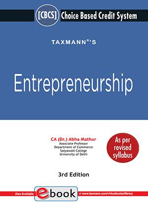 Taxmann Entrepreneurship By Abha Mathur Edition March 2021