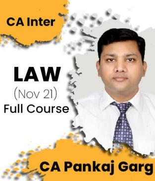 Video Lecture CA Inter Law Regular New Syllabus By CA Pankaj Garg