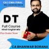 Video Lecture CA / CMA Final Direct Tax Hindi By CA Bhanwar Borana