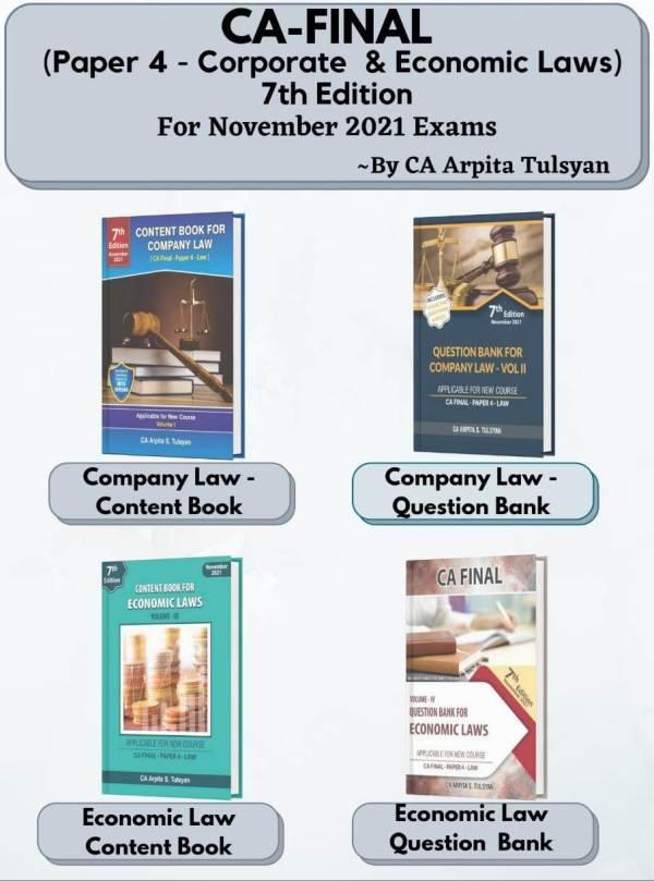 CA Final Corporate & Economic Laws Arpita S Tulsyan