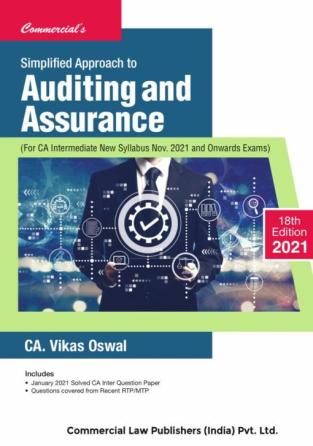 Commercial CA Inter Auditing and New Syllabus By CA Vikas Oswal