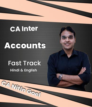 Video Lectures CA Inter Accounts Fast Track By CA Nitin Goel