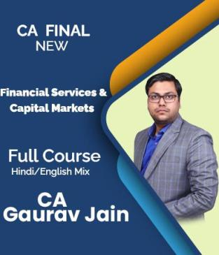 Video Lecture CA Final Financial Services Capital Markets CA Gaurav Jain