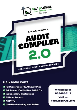 CA Final Audit Compiler 2.0 PDF New Syllabus By CA Ravi Agarwal