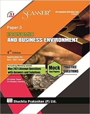 Shuchita Model Scanner CSEET Paper – 3 Economic and Business Environment