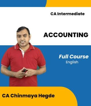 Video Lectures CA Inter Accounting Full New CA Chinmaya Hegde