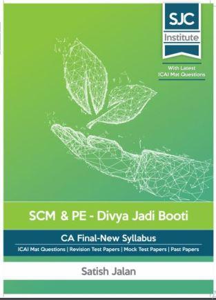 CA Final SCMPE Divya Jadi Booti Books New Syllabus By Satish Jalan