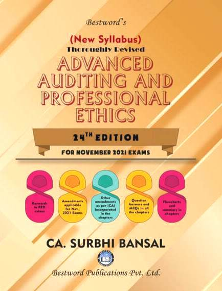 Bestword CA Final Advanced Auditing & Professional Ethics Surbhi Bansal