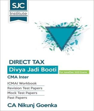 CMA Inter Direct Tax Divya Jadi Booti Book By CA Nikunj Goenka