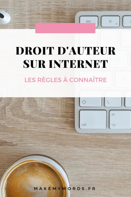 droit d'auteur sur internet