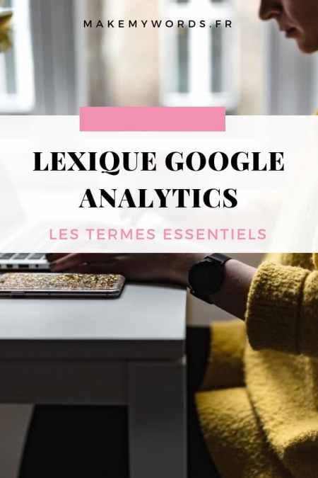 lexique google analytics