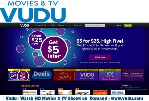 Vudu - Watch HD Movies & TV Shows on Damand - www.vudu.com