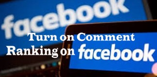 How to turn on Comment Ranking on Facebook