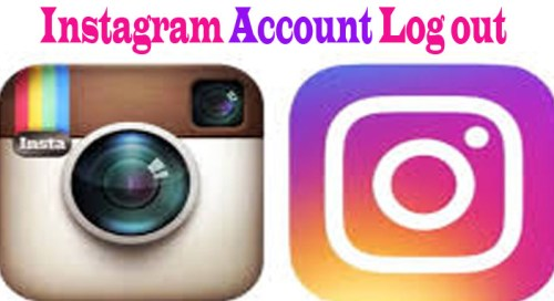 Instagram Account Log out