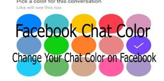 Change Your Chat Color on Facebook - www.Facebook.com